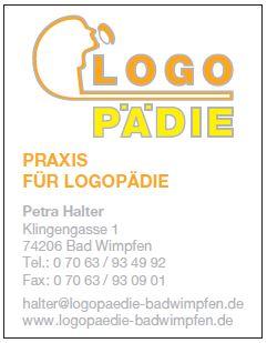Logopädie Halter